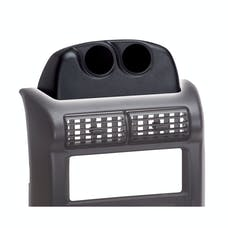 AutoMeter Products 15219 Dash-Top Dual-Gauge Pod Mount (1997-06 Wrangler TJ, 2-1/16 in.)