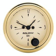AutoMeter Products 1586 Clock  12 Volt