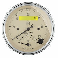AutoMeter Products 1881 Tach/Speedo Combo 3-3/8in  8K/120 MPH - Electric