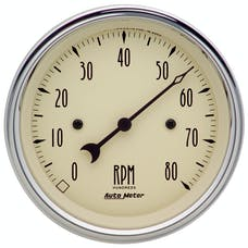 AutoMeter Products 1890 Tach  Antique Beige