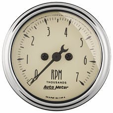 AutoMeter Products 1897 Antique Beige  Electric Tachometer 2 1/16 in. 7000 RPM