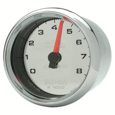 """AutoMeter Products 19308 Tachometer Gauge, Chrome-Pro Cycle 2-5/8"""", 8K RPM, 2&4 Cylinder"""