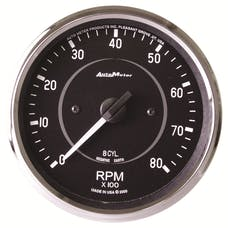 AutoMeter Products 201004 Gauge; Tachometer; 4in.; 8k RPM; In-Dash (8 CYL Only!); Cobra