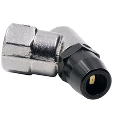 "AutoMeter Products 2168 Air Chuck, 45┬║ Bullet Foot, 1/4"" Npt"