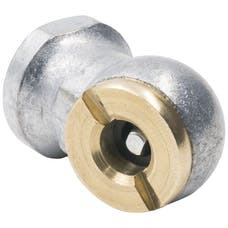 "AutoMeter Products 2169 Air Chuck, 90┬║ Ball Foot, 1/4"" Npt"
