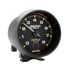 AutoMeter Products 2302 Gauge; Tach; 3 3/4in.; 8k RPM; Pedestal w/shift light; Blk Dial Blk Case; AG