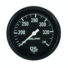 AutoMeter Products 2314 Oil Temp Gauge 100-340 F