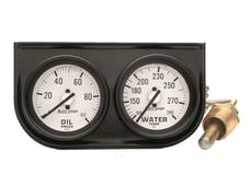 AutoMeter Products 2326 2 Gauge Console  Oil/Water