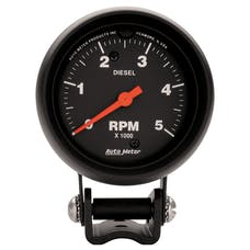 AutoMeter Products 2888 Diesel Tach  5000 RPM