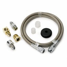 AutoMeter Products 3234 LINE; BRAIDED STAINLESS STEEL; #3 DIA.; 3FT. LENGTH;-3AN AND 1/8in. NPTF FITTING