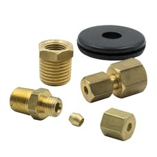 AutoMeter Products 3290 1/8in. NPT COMPRESSION FITTING KIT