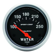 AutoMeter Products 3531 Water Temp  100-250 F