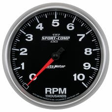 AutoMeter Products 3698 Gauge; Tachometer; 5in.; 10k RPM; In-Dash; Sport-Comp II