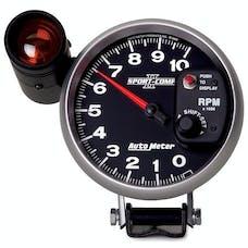 AutoMeter Products 3699 GAUGE; TACHOMETER; 5in.; 10K RPM; PEDESTAL W/EXT. SHIFT-LITE; SPORT-COMP II