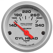 AutoMeter Products 4336 Cyl Head Temp  140-340 F