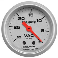 AutoMeter Products 4384 Vacuum  30 In. Hg