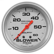 AutoMeter Products 4602 Blower Press  0-60 PSI LFG