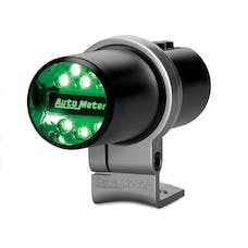 AutoMeter Products 5336 Indicator Light; Pit Road Speed; Pedestal; Black; Programmable