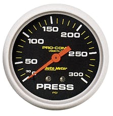 AutoMeter Products 5423 Pressure Gauge  0-300 PSI