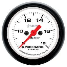 "AutoMeter Products 5770 2-1/16"" Analog Wideband 8-18, Phantom"