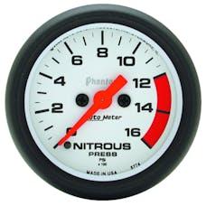 AutoMeter Products 5774 Nitrous Press  0-1600 PSI