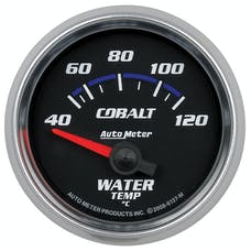 AutoMeter Products 6137-M 2-1/16in Water Temp 40- 120C SSE Cobalt