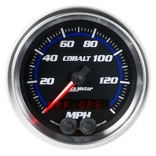 AutoMeter Products 6280 Gauge; Speedometer; 3 3/8in.; 140mph; GPS; Cobalt