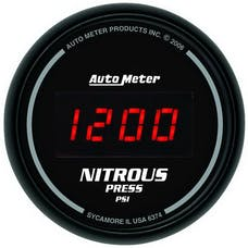AutoMeter Products 6374 2-1/16in Nitrous, 0-2000 PSI -  Digital Black