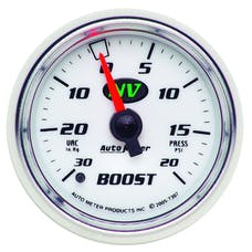 AutoMeter Products 7307 Boost/Vac  30 In. Hg/20 PSI