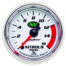 AutoMeter Products 7374 Nitrous Press  0-1600 PSI