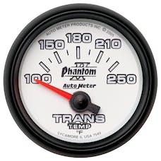 AutoMeter Products 7549 Gauge; Transmission Temp; 2 1/16in.; 100-250deg.F; Electric; Phantom II