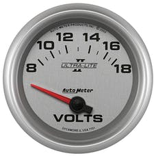 AutoMeter Products 7791 2-5/8in Voltmeter, 8-18V, SSE