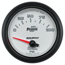 AutoMeter Products 7827 2-5/8in Oil Press, 0-100 PSI, SSE