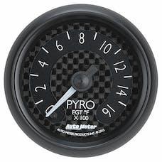 AutoMeter Products 8044 Gauge; Pyrometer (EGT); 2 1/16in.; 1600deg.F; Digital Stepper Motor; GT