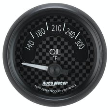 AutoMeter Products 8048 Gauge; Oil Temp; 2 1/16in.; 300deg.F; Elec; GT
