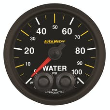 "AutoMeter Products 8168-05702 2-1/16"" Water Pressure 100 PSI"