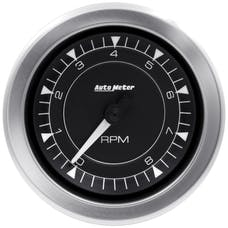 AutoMeter Products 8197 Chrono Gauge, Tachometer, 10k Rpm, In-Dash