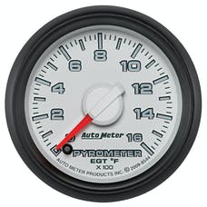 "AutoMeter Products 8544 2-1/16"" Factory Match Pyrometer 0-1600"