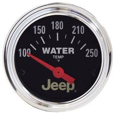 "AutoMeter Products 880241 2-1/16"" Water Temperature, 100-250 °F,"