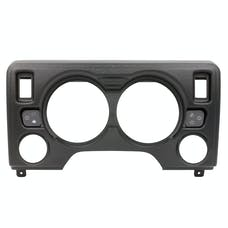 "AutoMeter Products 90010 Direct Fit Dash Panel Gauge Mount-4 Gauge (5"" X2, 2 1/16"" X2)"