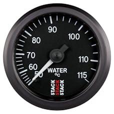 AutoMeter Products ST3107 Gauge WTmp Mech 52mm Blk 50-115deg.C
