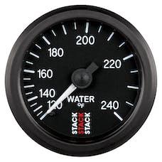 AutoMeter Products ST3108 Gauge WTmp Mech 52mm Blk 120-240deg.F