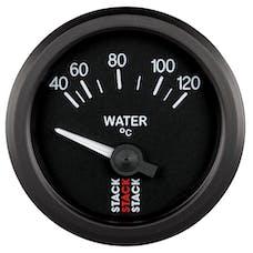 AutoMeter Products ST3207 Gauge WTmp Elec 52mm Blk 40-120deg.C