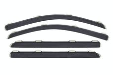 AVS 194536 Ventvisor In-Channel Deflector 4 pc. Smoke