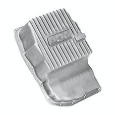 B&M 70392 Cast Aluminum Trans Pan for 6L80E-Natural
