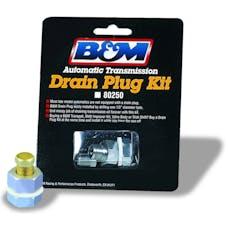 B&M 80250 Drain Plug Kit-Universal