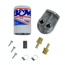 B&M 80277 Remote Transmission Filter Kit