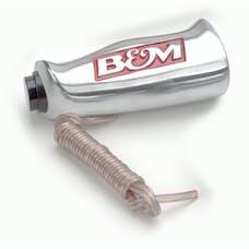 B&M 80658 UNIV ALUM T-HANDLE W/BTN