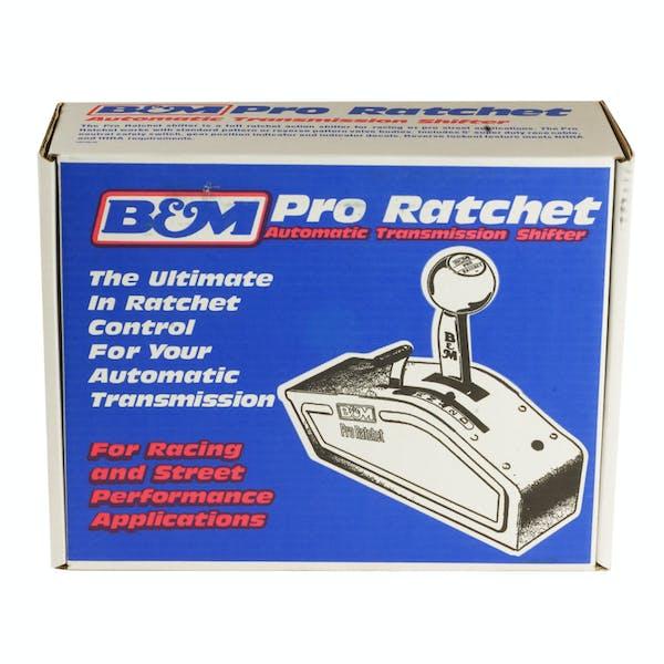 B&M 81120 Automatic Shifter-Stealth Pro Ratchet-Universal