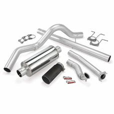 Banks Power 46299-B Monster Exhaust System; S/S-Black Tip-1994-97 Ford 7.3L; Cclb